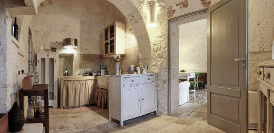 image 5 - kitchen and living - Dimora dei Gelsi Alberobello Puglia