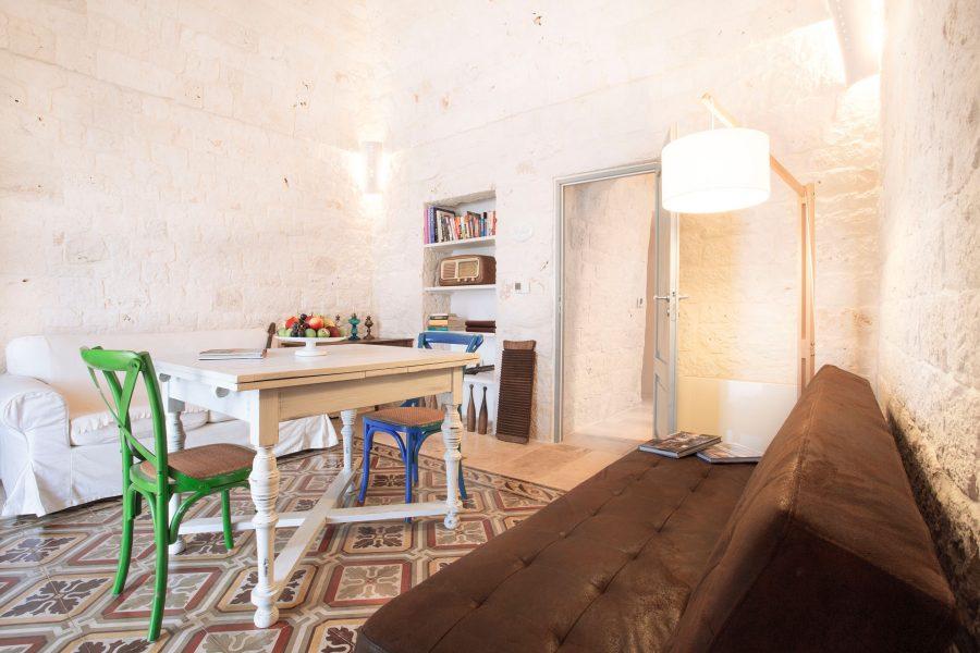 image 8 - kitchen and living - Dimora dei Gelsi Alberobello Puglia